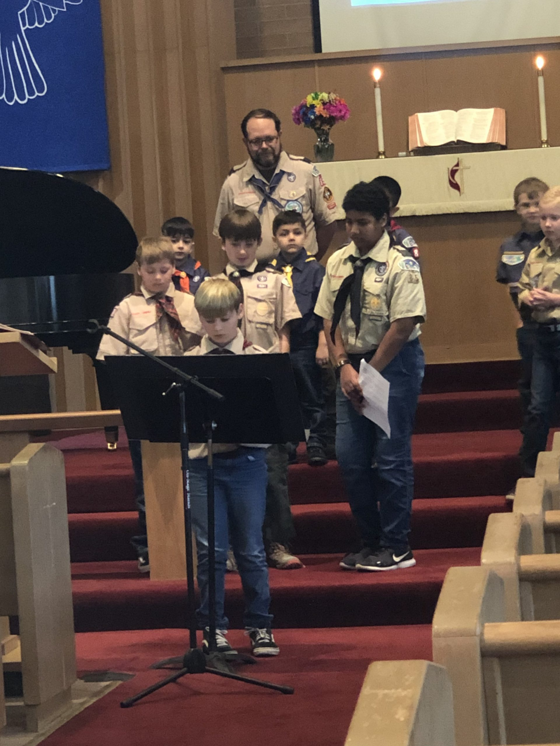 Boy Scout Sunday 2020