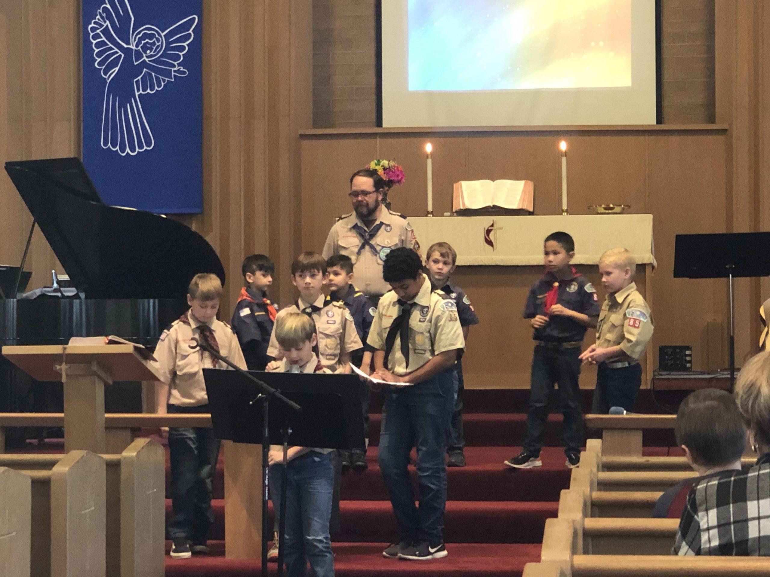 Boy Scout Sunday 2020